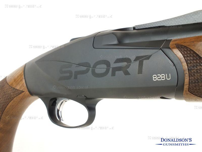 Benelli 828U Black Sport Shotgun