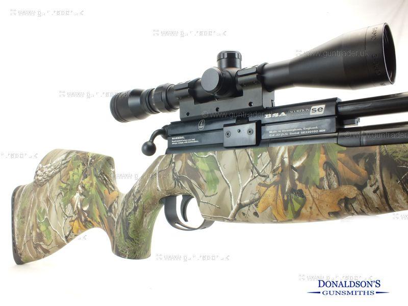 BSA Scorpion SE Multishot Realtree Camo Air Rifle