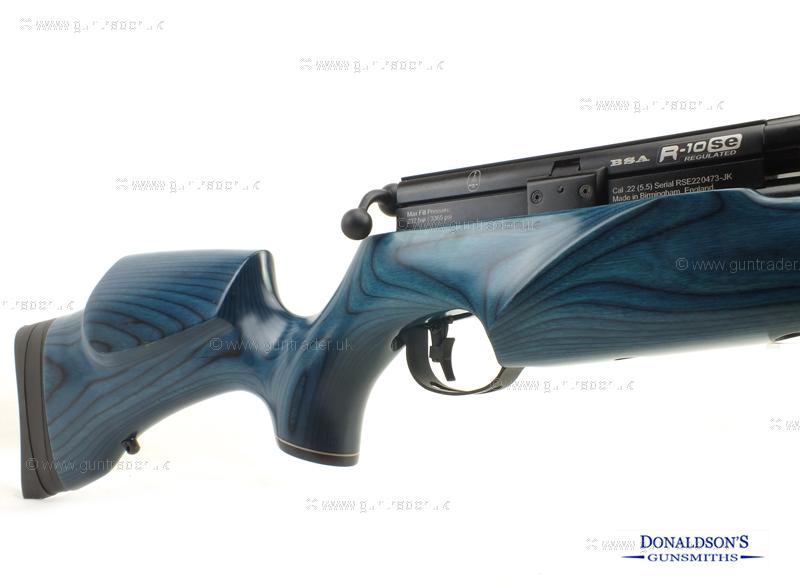 BSA R-10SE Blue Laminate Air Rifle