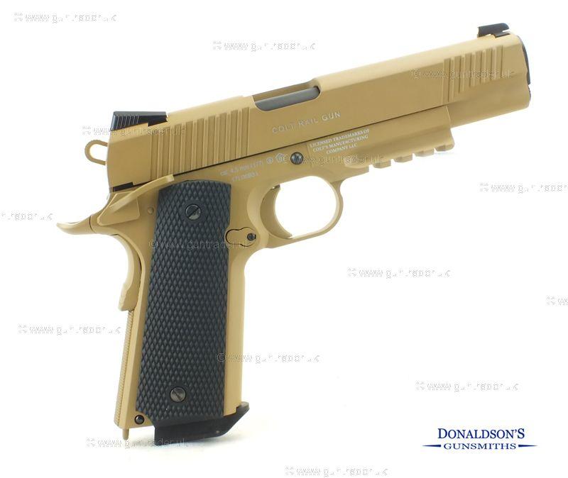 Colt 1911 M45 QCBP Tan Air Pistol