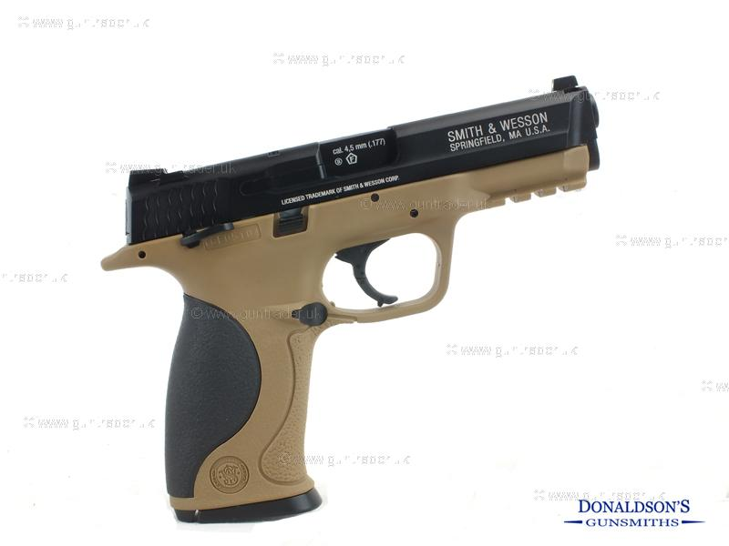 Smith & Wesson M&P 40 TS FDE Air Pistol