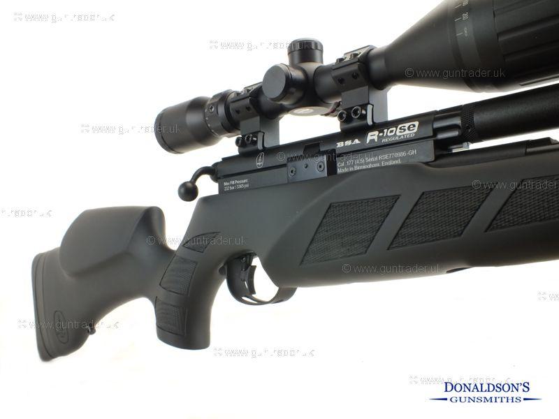 BSA R10 SE Black Edition Air Rifle
