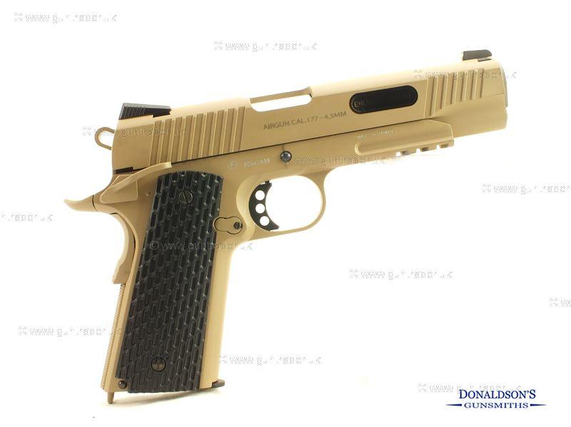 Swiss Arms SA 1911 Tan Air Pistol