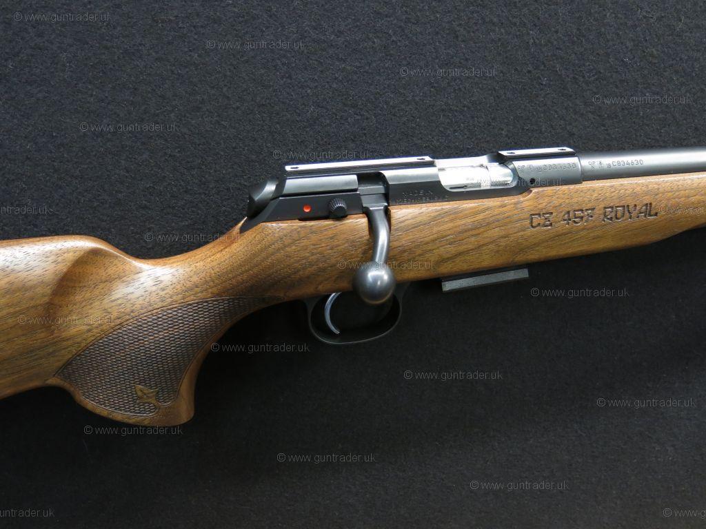 CZ  17 HMR 457 Royal (Screw Cut 1/2
