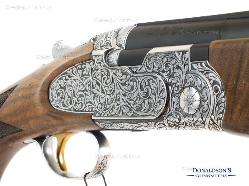 ATA Deluxe Hand Engraved Sporter Shotgun