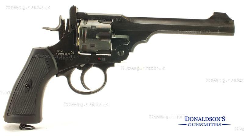 Webley Mark VI  Service Revolver Battlefield Air Pistol