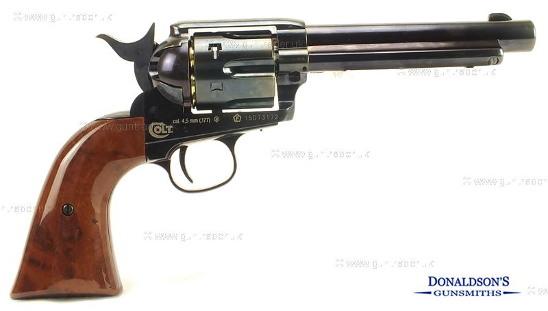 Colt Peacemaker Blued Air Pistol