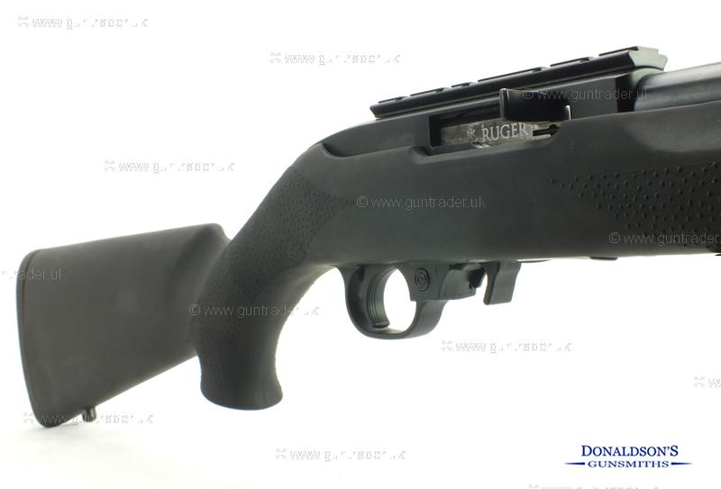 Ruger 10/22 Hogue stock Blued Rifle