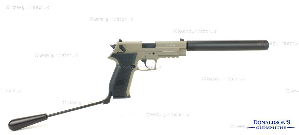 GSG Firefly Tan Pistol (Long Barrel)