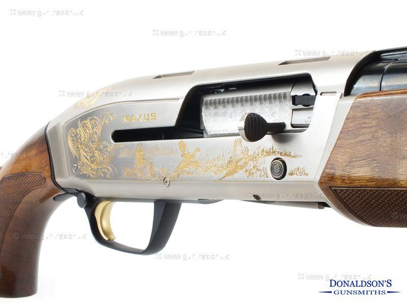 Browning Maxus Ultimate Partridges Shotgun