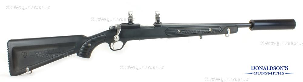 Ruger M77/22 synthetic blue Rifle