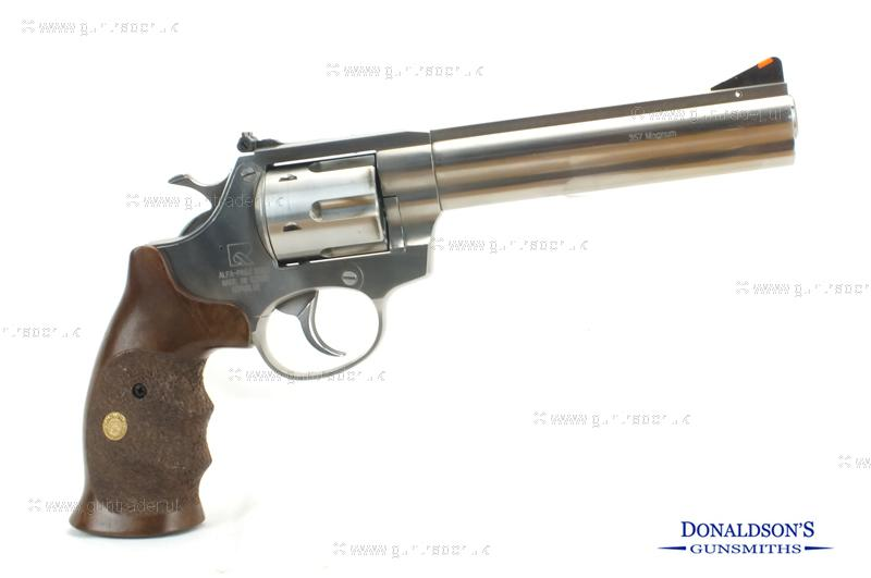 Alfa 3561 M/L/R Stainless Pistol (Black Powder)