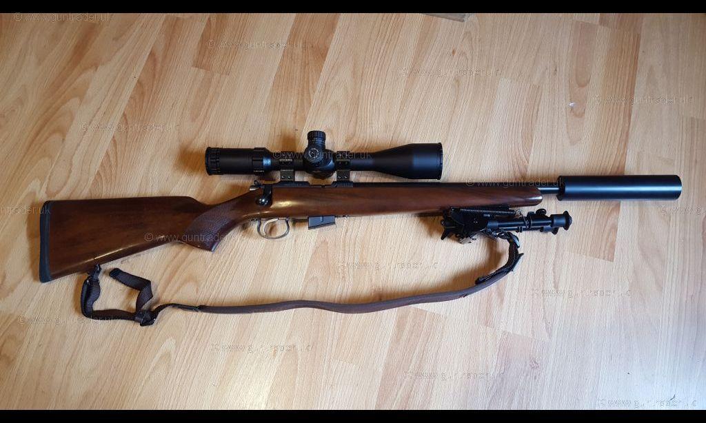 CZ  17 HMR 452 American (Short heavy/thick barrel)