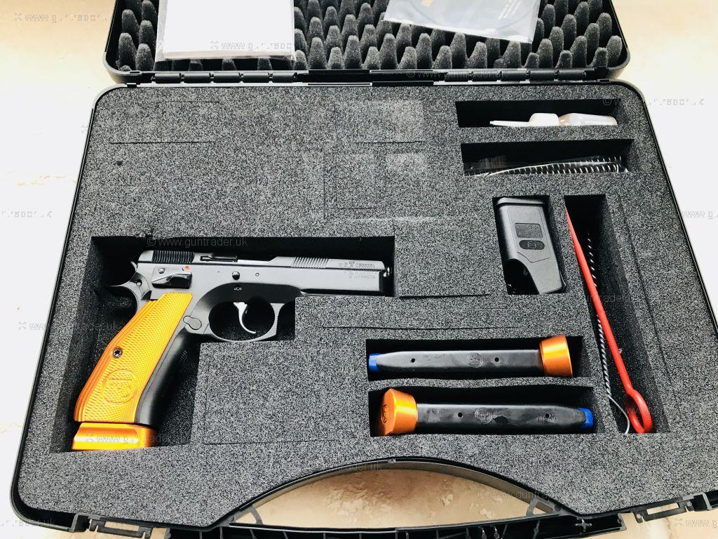CZ 9mm 75 SP-01 Shadow Orange