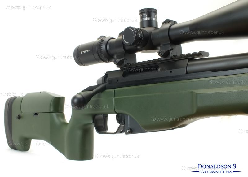 Sako TRG-22 Green stock - Phosphate barrel Rifle