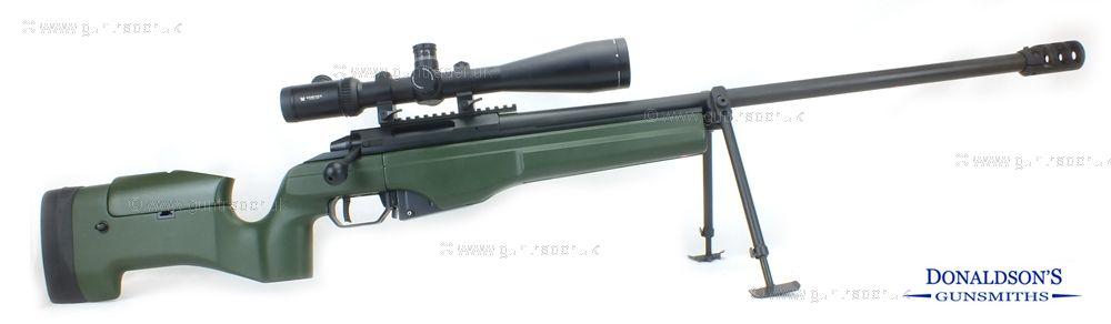 Sako TRG-22 Green stock - Phosphate barrel Rifle