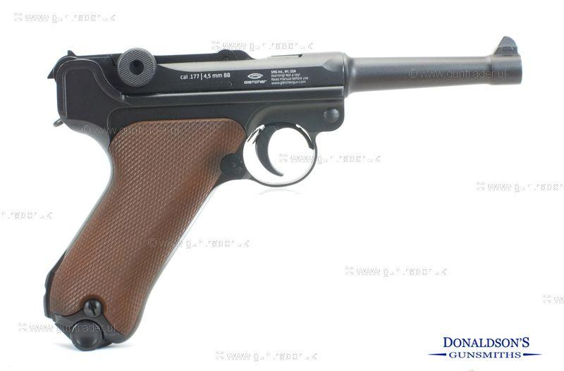 Gletcher Luger PO-08 Air Pistol
