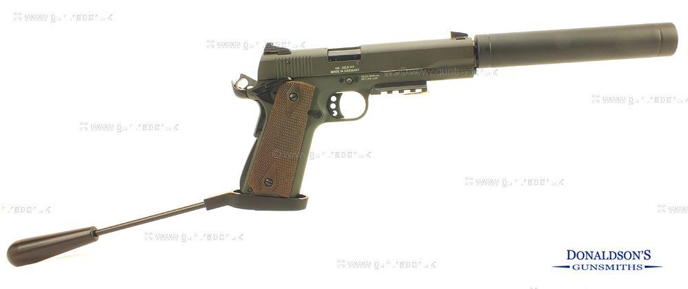 GSG 1911 OD-GREEN Pistol (Long Barrel)