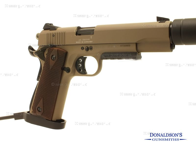 GSG 1911 US-TAN Pistol (Long Barrel)
