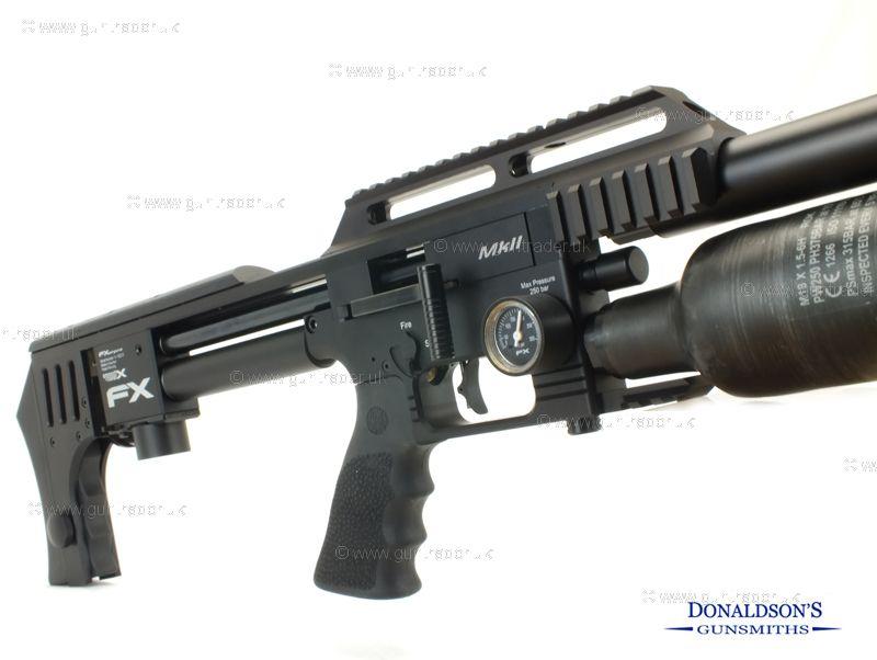 FX Impact MK2 Black Air Rifle