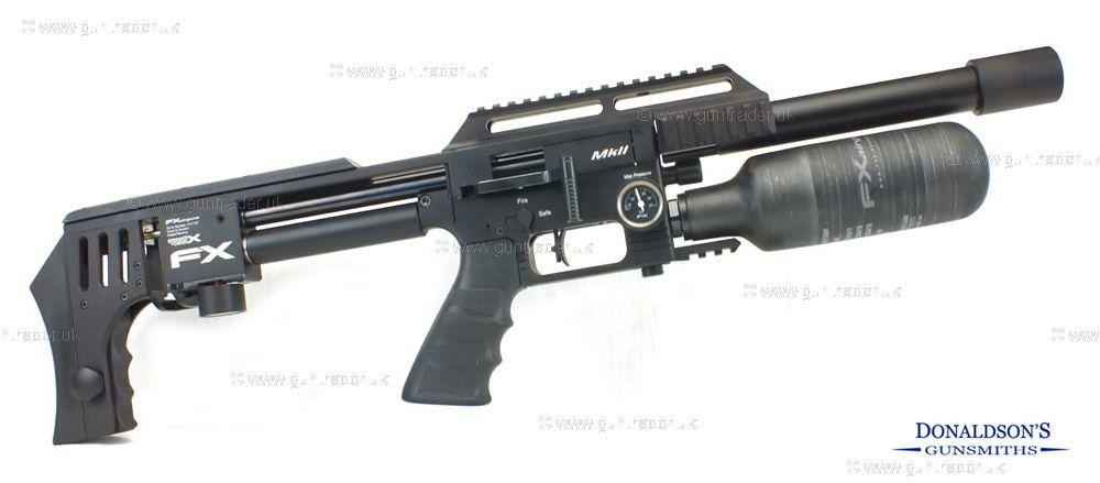 FX Impact MK2 Compact Black Air Rifle