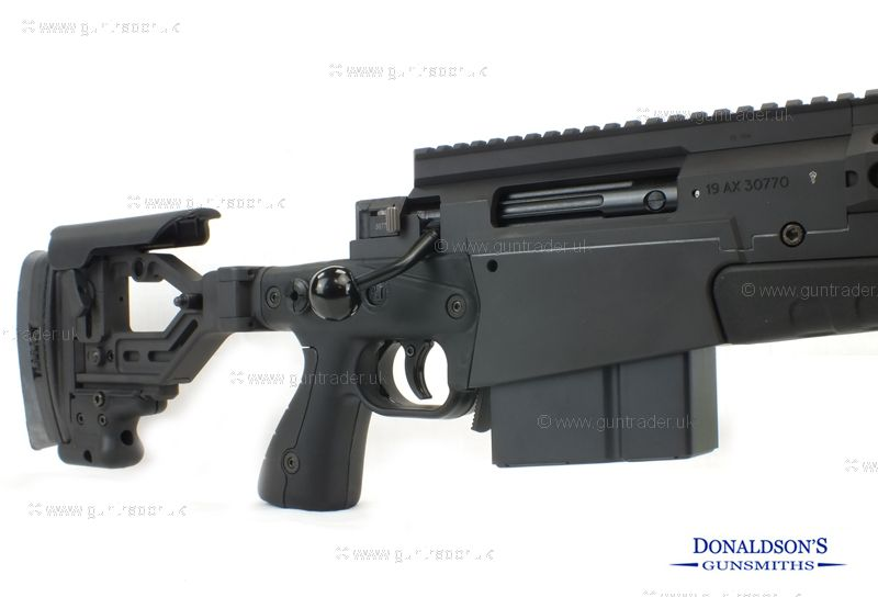 Accuracy International AXMC Black Rifle