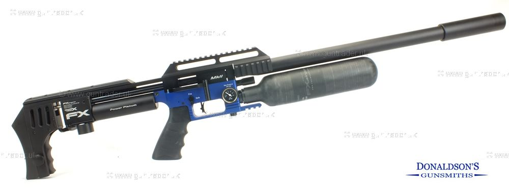 FX Impact Mk II Blue Air Rifle