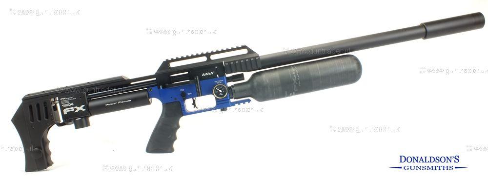 FX Impact Mk II Blue Air Rifle