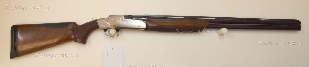 S/H Benelli 828U Silver  12 gauge