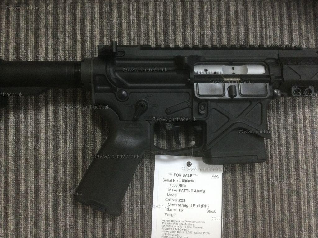 S/H BATTLE ARMS   .223