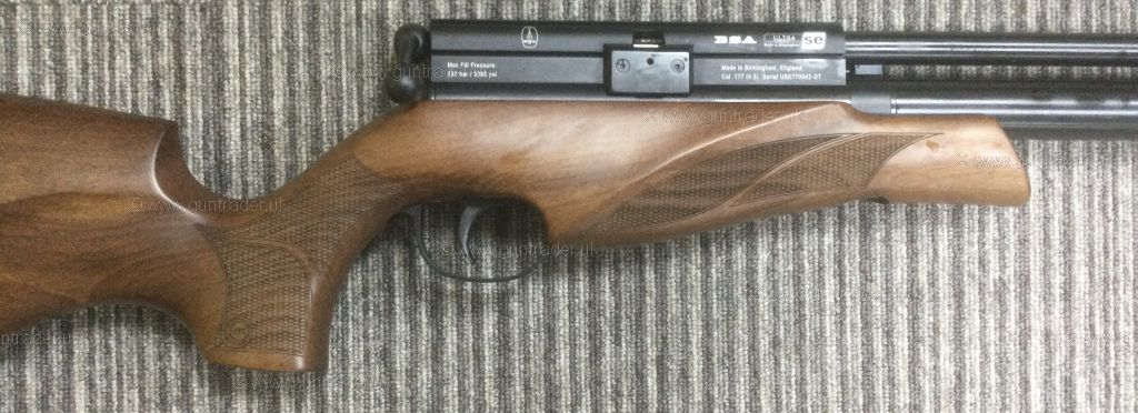 New BSA Ultra SE Multishot Beech  .177