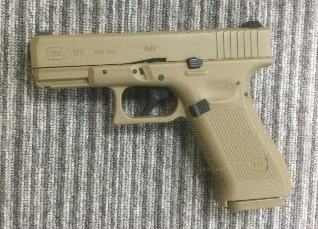 Buy New Umarex Glock 19X TAN .177 (BB) | Shooting Supplies Ltd