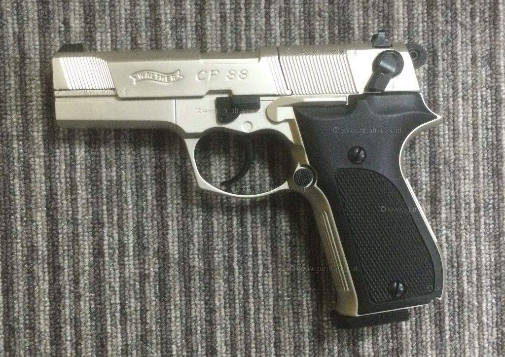 New Walther CP88 NICKEL .177
