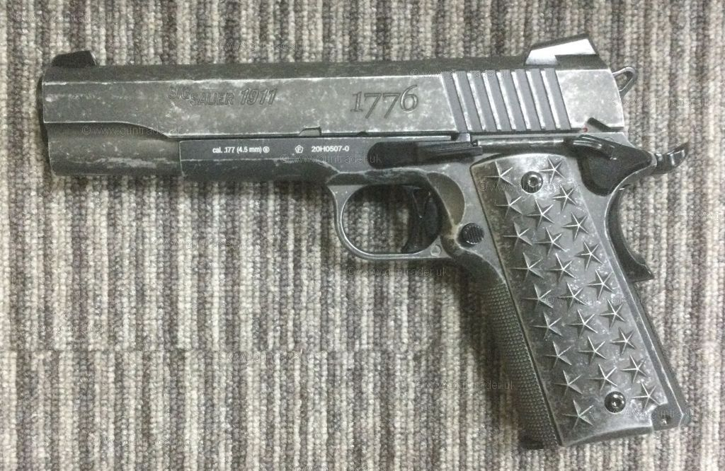 New Sig Sauer 1911 WE THE PEOPLE  .177 (BB)