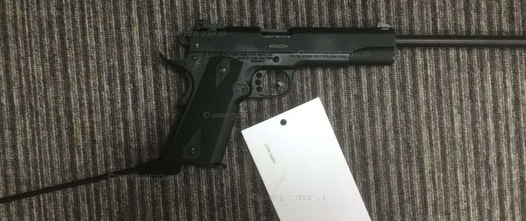 New Walther COLT GOLD CUP 1911  .22 LR