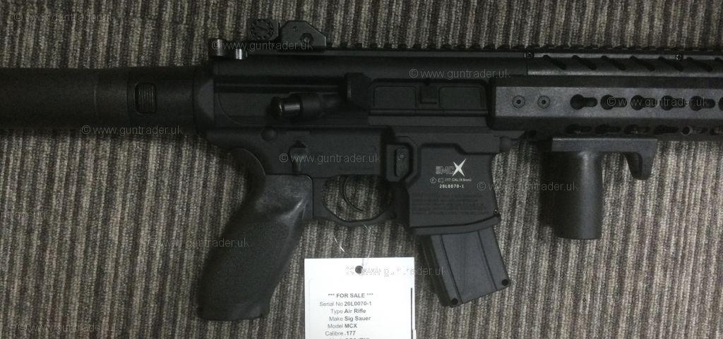 Buy New Sig Sauer MCX  .177   Shooting Supplies Ltd