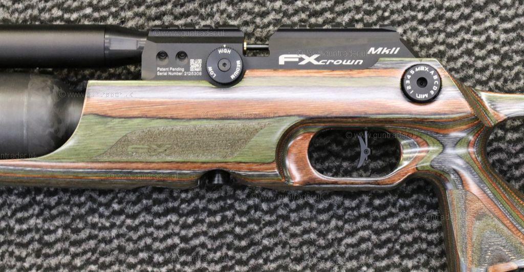 FX .177 CROWN MK2  COMPACT GREEN  LAMINATE