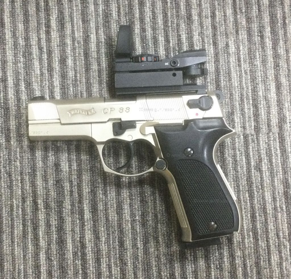 S/H Umarex Walther CP88  .177