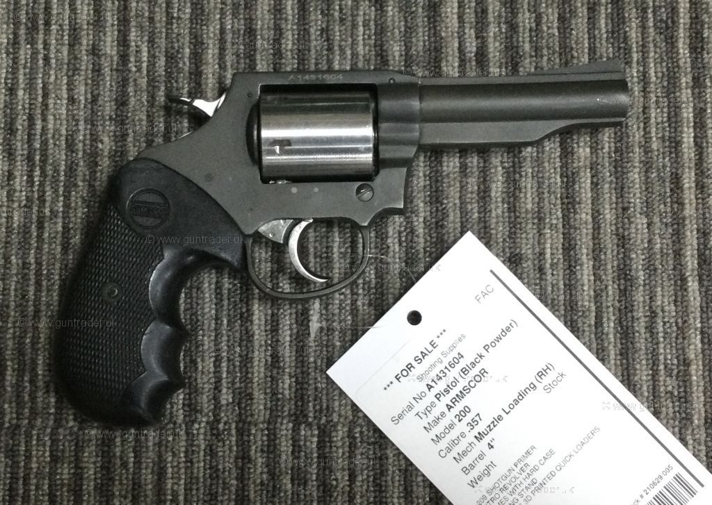 Buy S/H ARMSCOR 200  .357 | Shooting Supplies Ltd