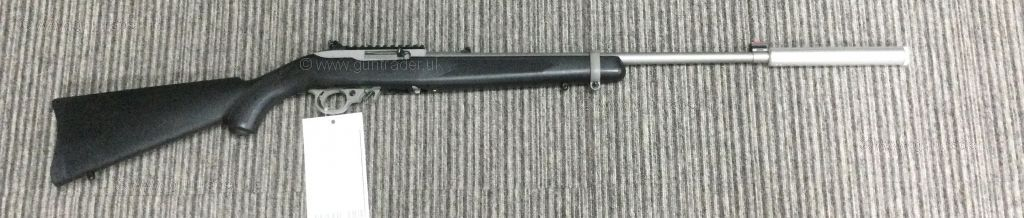 S/H Ruger 10/22 Synthetic Stainless  .22 LR