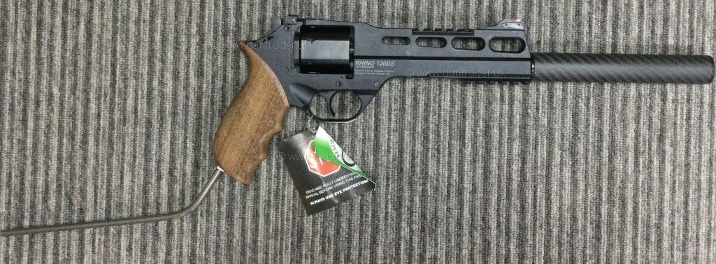 Buy New Chiappa Rhino 120 DS BLACK .38/.357 Magnum | Shooting Supplies Ltd