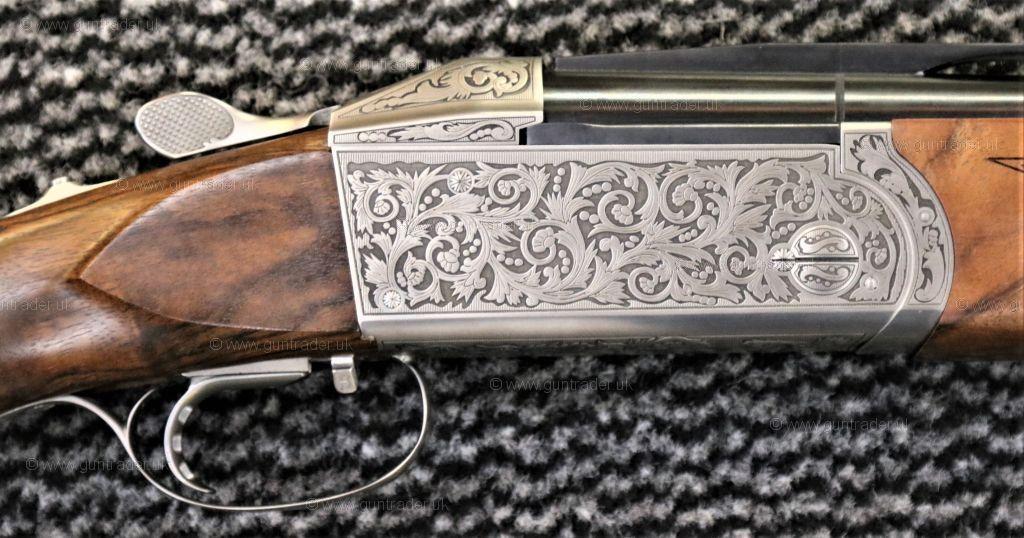 Krieghoff 12 gauge K80 Super Sport Sovereign Scroll Nitride
