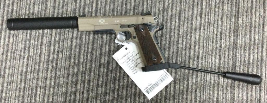 New GSG 1911 US-TAN  .22 LR
