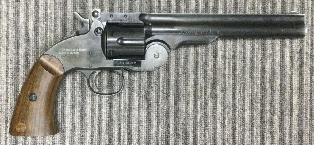 Buy New ASG SCHOFIELD 6 AGING BLACK .177 | Shooting Supplies Ltd
