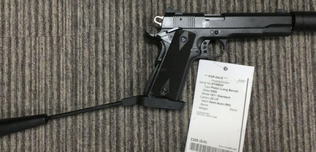 Buy S/H GSG 1911 Standard  .22 LR   Shooting Supplies Ltd