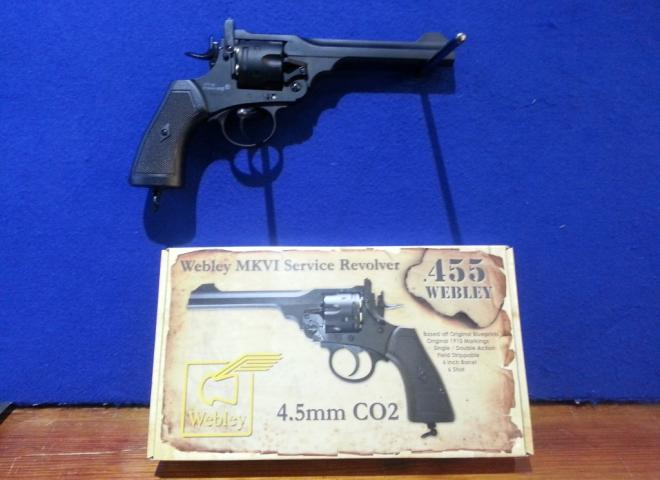 Webley .177 (BB) MKVI Service Revolver ( )