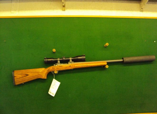 Ruger .308 M77 Mk II (Laminate Varmint Stainless)