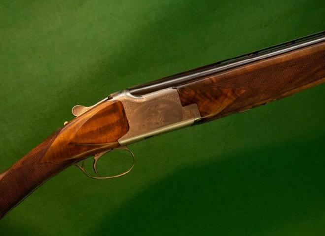 Browning 12 gauge B25 B12 (Roach Belly Grip)