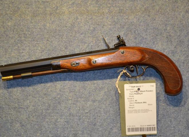 Pedersoli .45 Charles Moore Target (Flintlock)