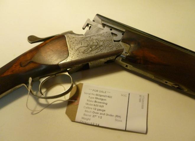 Browning 12 gauge B25 B2F